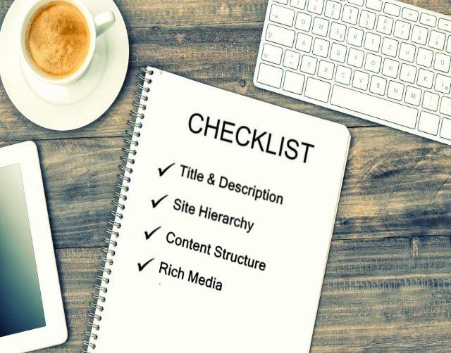 Ongoing SEO - SEO checklist