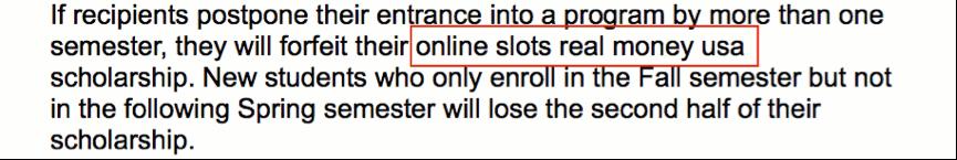 SEO online casinos